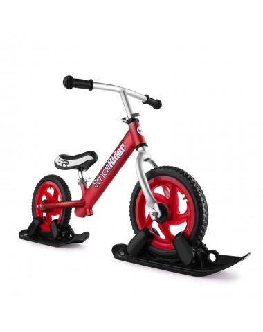 Combo Drift - Беговел из алюминия с лыжами и колесами Small Rider Foot Racer EVA (красный)