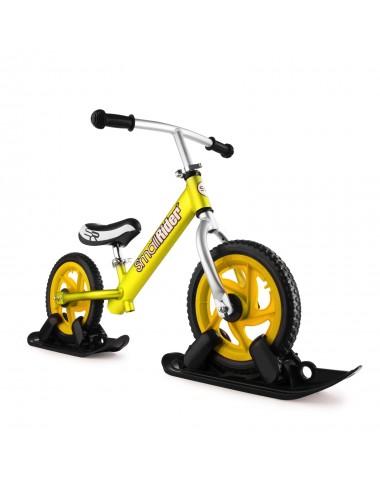 Combo Drift - Беговел из алюминия с лыжами и колесами Small Rider Foot Racer EVA (золотой)