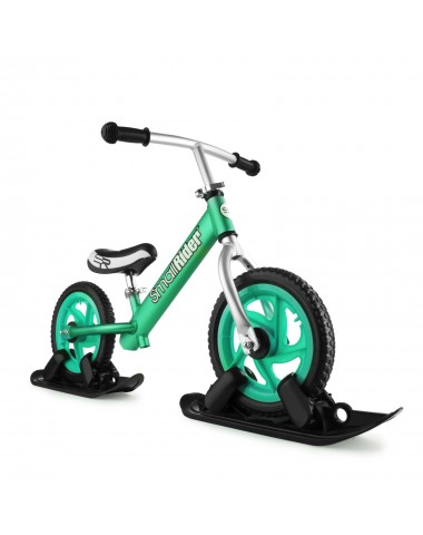 Combo Drift - Беговел из алюминия с лыжами и колесами Small Rider Foot Racer EVA (аква)