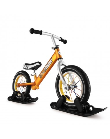 Combo Drift - Беговел из алюминия с лыжами и колесами Small Rider Foot Racer AIR (бронза)