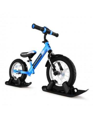 Combo Drift - Беговел из алюминия с лыжами и колесами Small Rider Roadster 2 AIR PLUS (NB) (синий)