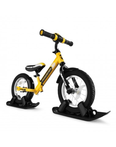 Combo Drift - Беговел из алюминия с лыжами и колесами Small Rider Roadster 2 AIR PLUS (NB) (желтый)