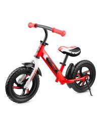 Детский алюминиевый беговел Roadster Small Rider Roadster 3 (Classic EVA) (красный)