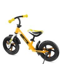 Детский алюминиевый беговел Roadster Small Rider Roadster 3 (Classic EVA) (желтый)