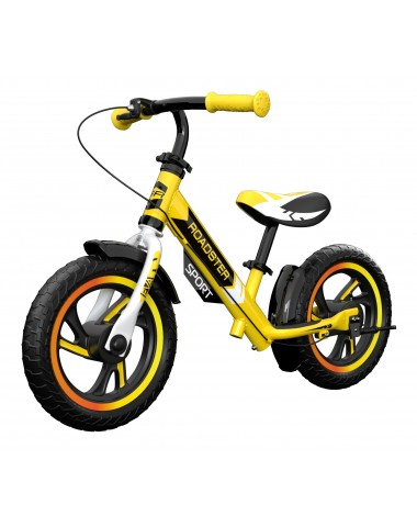 Детский алюминиевый беговел Small Rider Roadster 3 (Sport, EVA) (желтый)