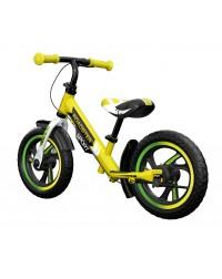 Детский алюминиевый беговел Small Rider Roadster 3 (Sport AIR) (лайм)