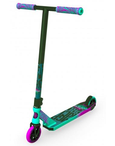 Трюковый самокат Madd Gear (MGP) Kick Pro (2019) (зелено-розовый)