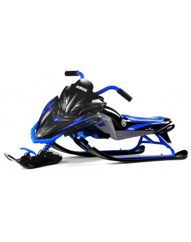 Детский снегокат Yamaha Apex Snow Bike (MG 2020 мягкое сиденье)) (черно-синий)