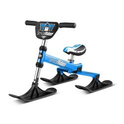 Самый легкий алюминиевый снегокат Small Rider TRIO (синий)