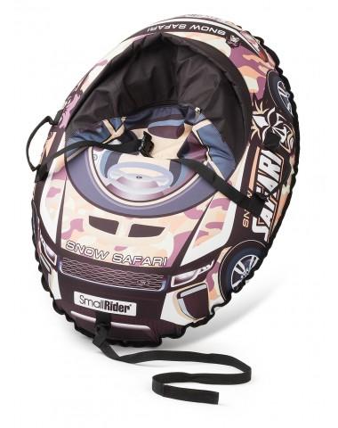 Надувные санки-тюбинг с сиденьем и ремнями Small Rider Snow Cars 3 (Сафари камуфляж)