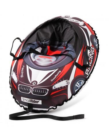 Надувные санки-тюбинг с сиденьем и ремнями Small Rider Snow Cars 3 (ВМ черно-красный)