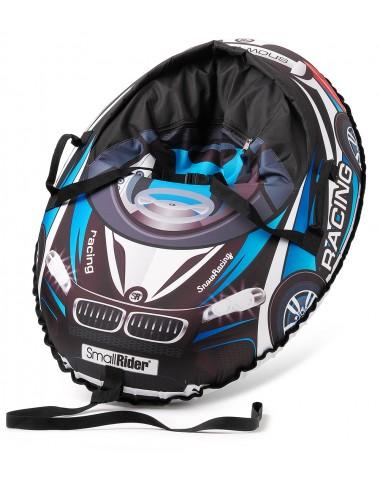Надувные санки-тюбинг с сиденьем и ремнями Small Rider Snow Cars 3 (ВМ черно-синий)