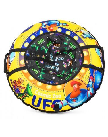 Надувные санки-ватрушка (тюбинг) Small Rider UFO (CZ) (желтый (капитан Клюква))