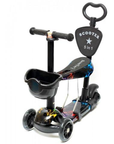 Самокат scooter  5в1 флэш 2020