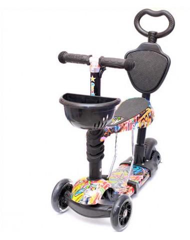 Самокат scooter  5в1 хип-хоп new