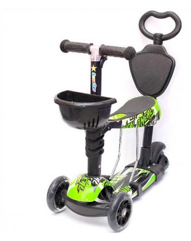 Самокат scooter  5в1 гонщик