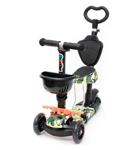 Самокат scooter  5в1 военный