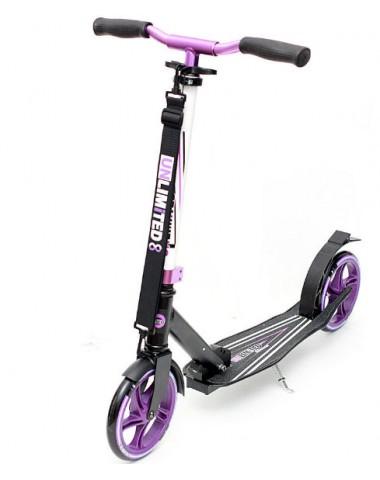 Самокат Unlimited NL500R 205 фиолетовый