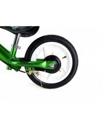 Беговел AL-1201TW Triumf Active на надувных колесах и с ручным тормозом зеленый