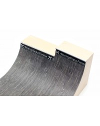 Фигура деревянная для фингербординга Мини рампа L двухуровневая рампа средняя