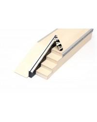 Фигура деревянная для фингербординга Бокс с лестницей +rail + kicker