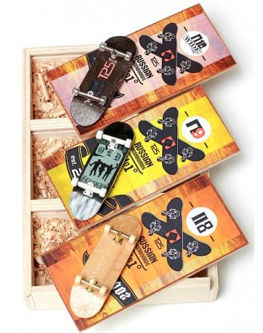 Фингерборд Турбо History 3 штуки в Боксе #16