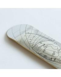 Дека Footwork CARBON TUSHEV FISHEYE SILVER FOIL 8 x 31.5