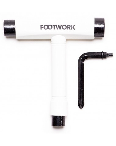 Ключ Footwork T-ОБРАЗНЫЙ БЕЛЫЙ