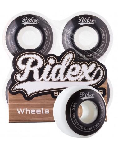 Комплект колес для скейтборда SB, 55*32, белый/черный, 4 шт