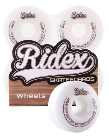 Комплект колес для скейтборда SB, 55*32, белый, 4 шт