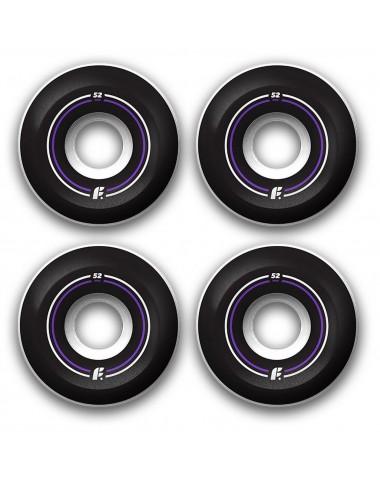 Комплект колес Footwork BASIC 53 мм 100A Форма Sidecut
