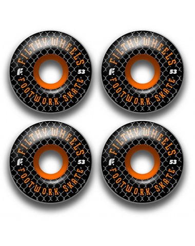 Комплект колес Footwork FILTHY BLACK 53 мм 85A Форма Classic
