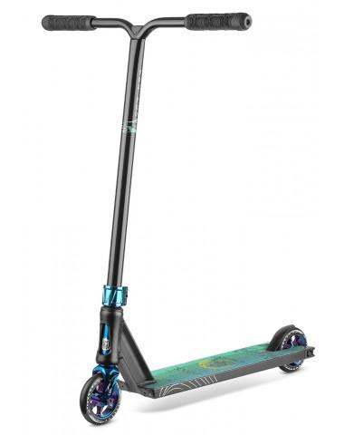 Самокат Fox V-tech 01 black/neo-blue  2021