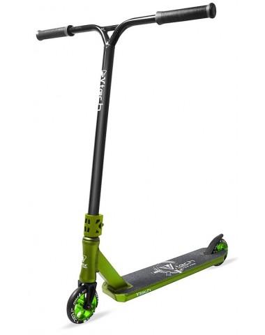 Самокат трюковый Fox Pro V-tech 01 2018 зеленый