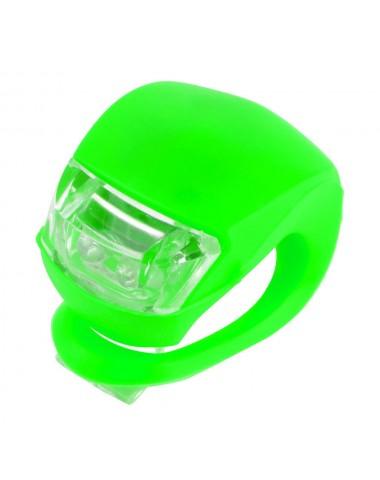 Фонарик для самоката зеленый свет