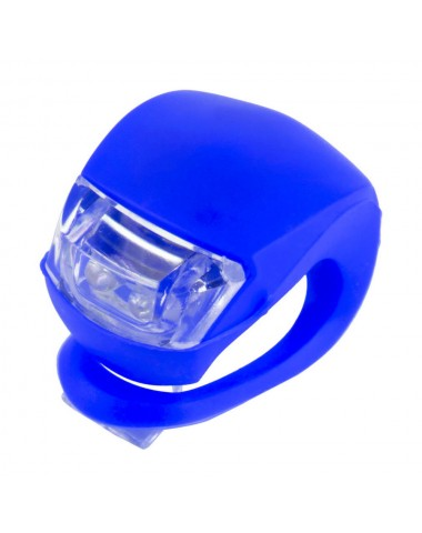 Фонарик для самоката синий свет
