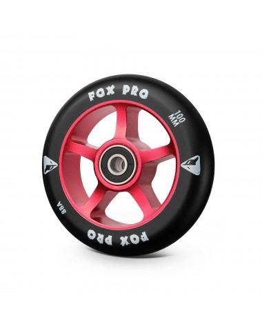 Колесо 5ST 100 мм красный/черный