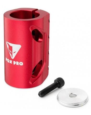 Хомут-О Fox SCS d 28.6 and 31.8, 4 bolts красный