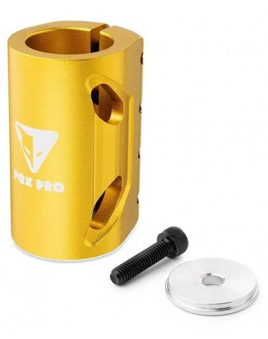 Хомут-О Fox SCS d 28.6 and 31.8, 4 bolts золотой