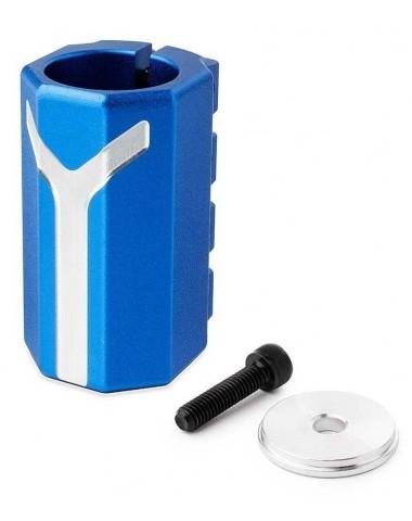 Хомут-Y Fox SCS d 28.6 and 31.8,  4 bolts синий