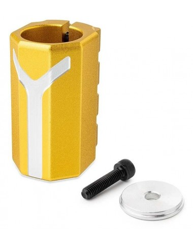 Хомут-Y Fox SCS d 28.6 and 31.8,  4 bolts золотой
