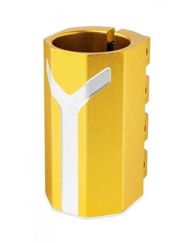 Хомут-Y Fox HIC d 34.9, 3 bolt oversized золотой