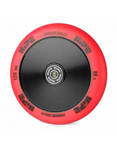 Колесо HIPE Medusa wheel LMT20 120мм red/core black Красный/черный