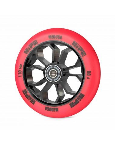 Колесо HIPE Medusa wheel LMT36 110мм red/core black Красный/черный