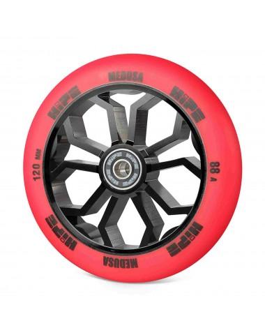 Колесо HIPE Medusa wheel LMT36 120мм red/core black Красный/черный