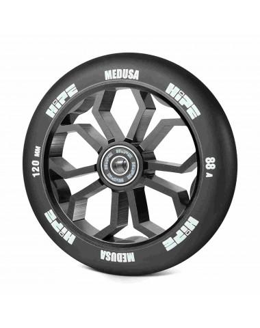 Колесо HIPE Medusa wheel LMT36 120мм black/core black Черный/черный