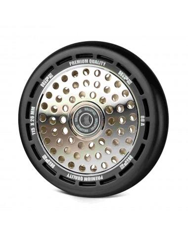 Колесо HIPE wheel 115мм black/core silver Черный/серебро