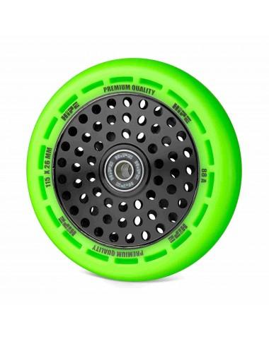 Колесо HIPE wheel 115мм green/core black Зеленый/черный
