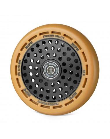 Колесо HIPE wheel 115мм brown/core black Коричневый/черный