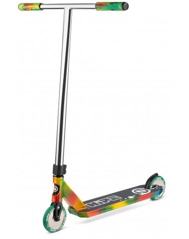Самокат трюковый Hipe X8 трехцветный